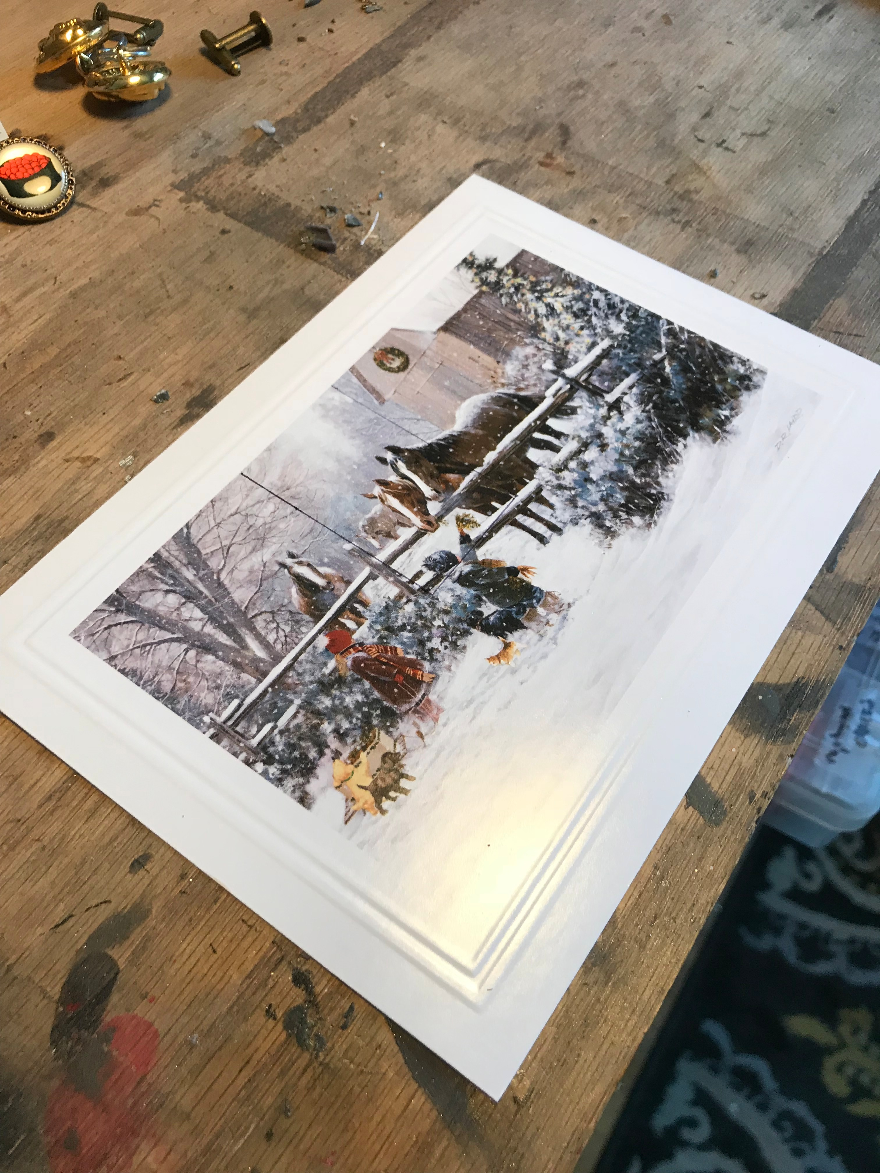 Picture of Cutting Out the Images