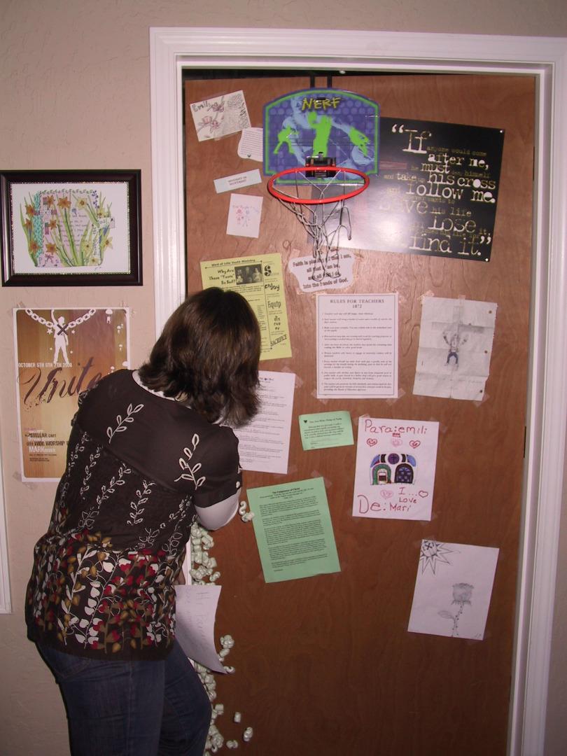 Picture of Create Bag Inside of Door,... Enjoy