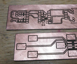 Making PCB with Heat Toner Transfer Paper and Laminator.