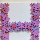 Jigsaw Puzzle Monogram Wall Art