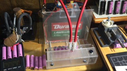 Using and Testing the Battery Tab Welder