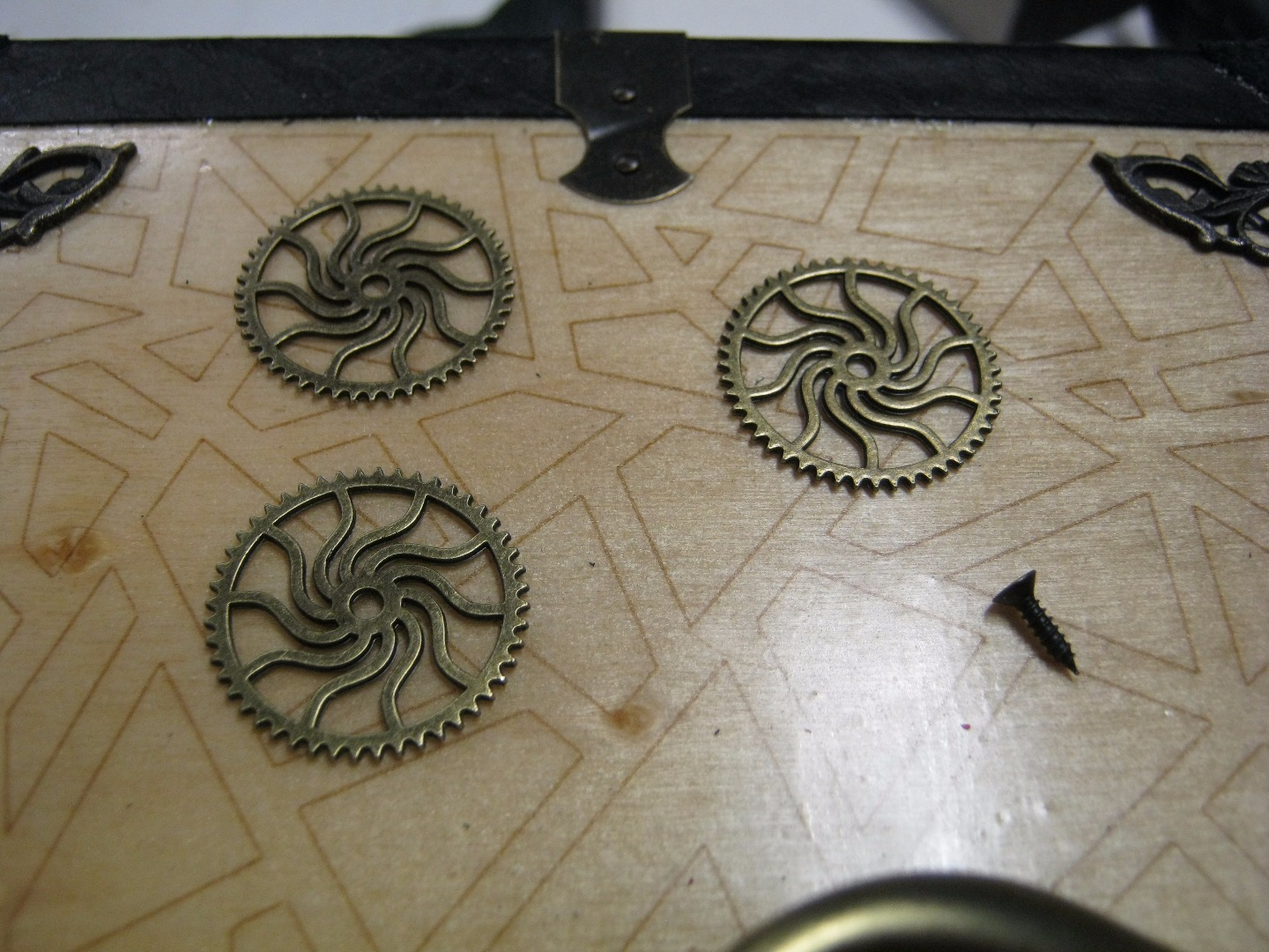 Picture of Some Steampunk Gears.