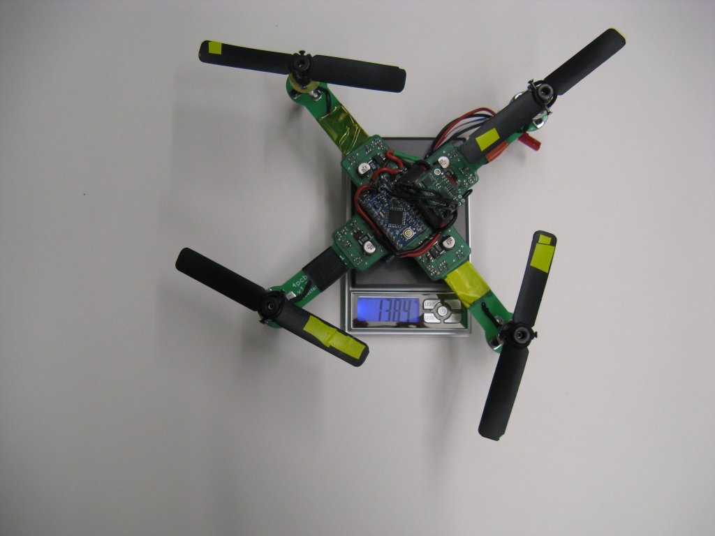 045400 GMT PCB Quadrotor Brushless 20 Steps with