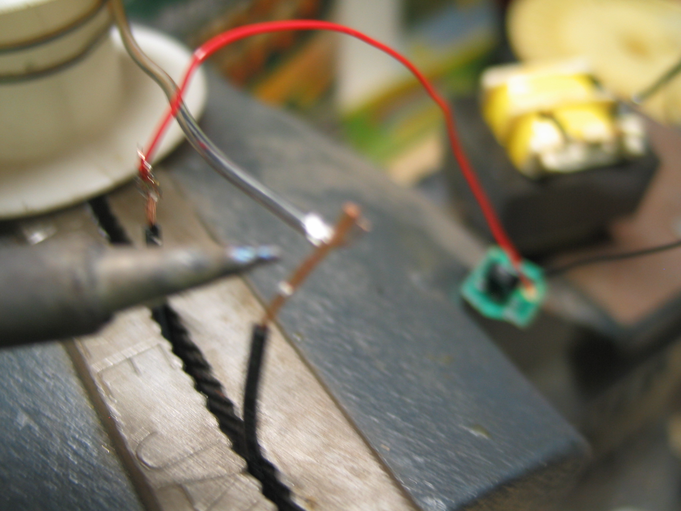 Picture of Wire the Battery Clip to the Rest of Your Tansformer (now Almost a Shocker!)
