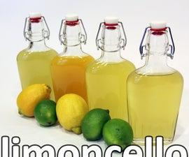 limoncello recipe
