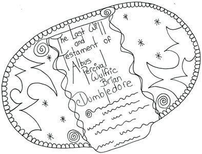 THE LAST WILL AND TESTAMENT OF DUMBLEDORE: