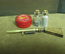Miniature Firearm With Easily Loaded Cartridges - The Snub