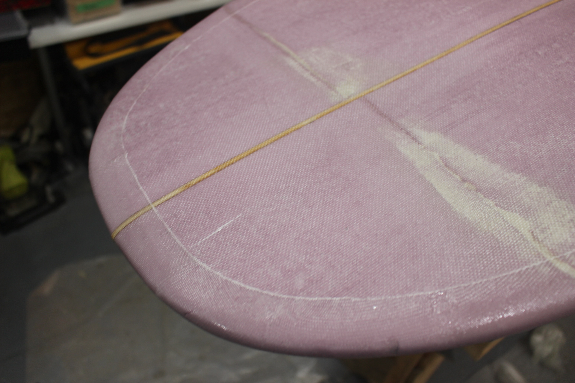 Picture of Laminating the Surfboard Deck