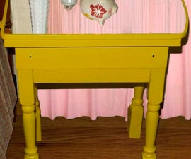 Vintage Medicine Cabinet Mirrored Side Tables