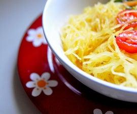 How To Cook Spaghetti Squash | Easy Vegan & Gluten-Free Recipe