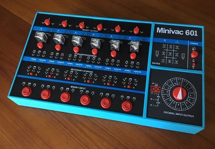 Minivac 601 Replica (Version 0.9)