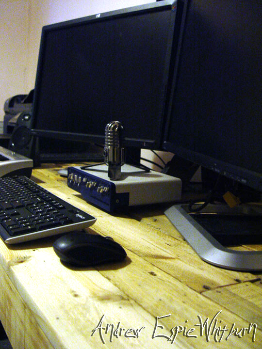 Picture of Step 10. - Wax On, Wax Off - Finishing the Desk