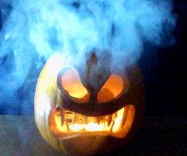 How to make a Smoking Pumpkin
