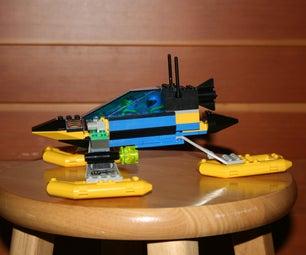 Lego Experimental Speed Boat