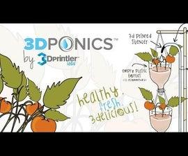 3DPONICS - Drip Hydroponics System