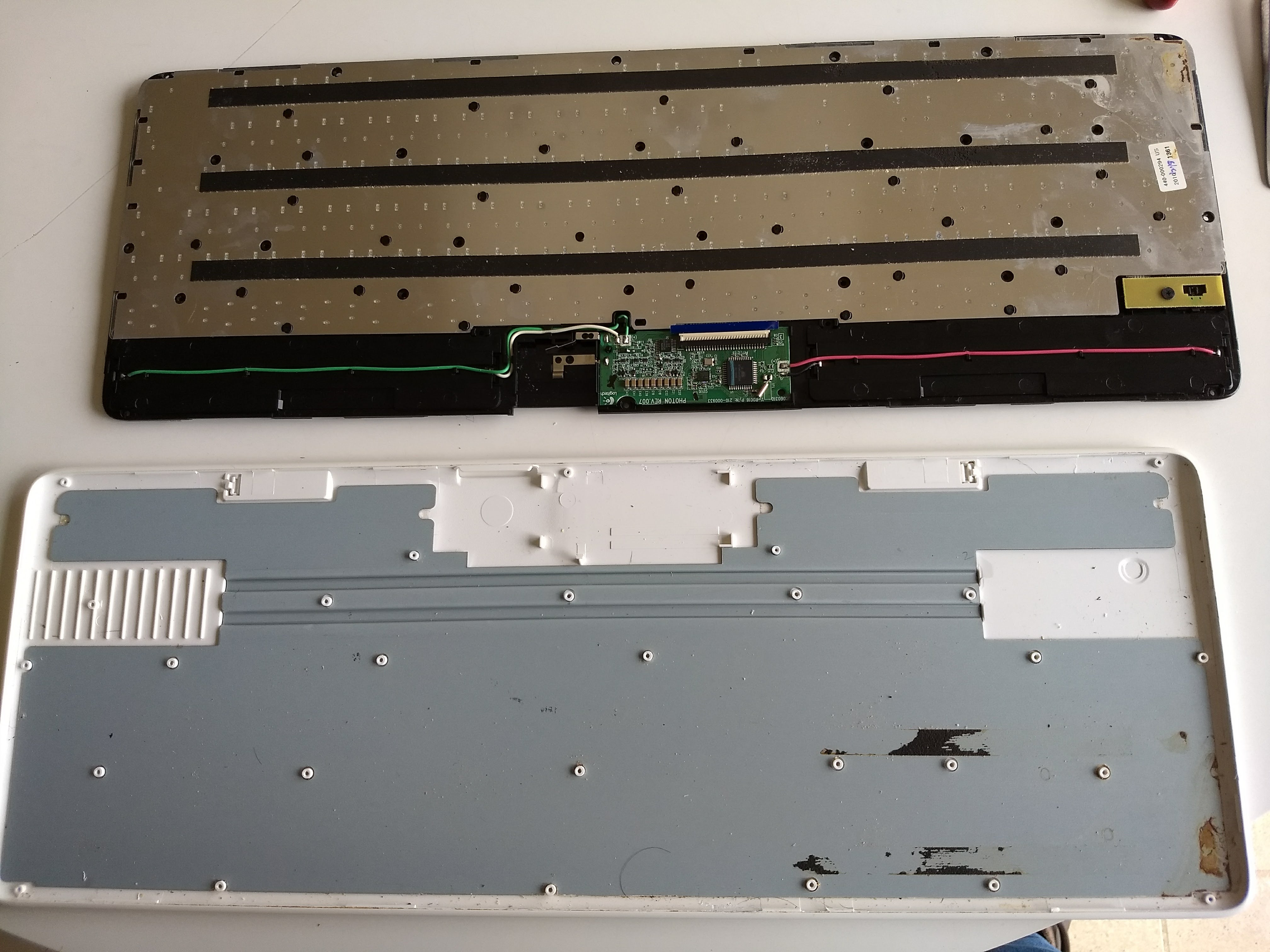 Picture of Remove the Battery Tray.