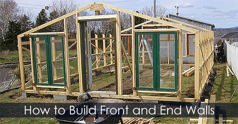 Picture of Step 4: How to Build Front and End Walls