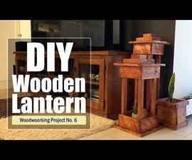 DIY - Wooden Lantern