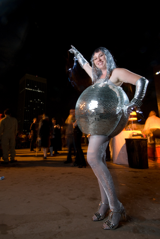 Mirrored Disco Ball Halloween Costume