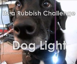 Joule thief dog light