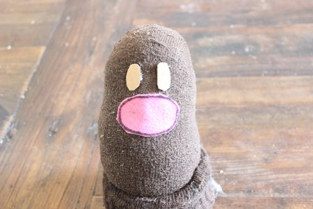 Fill Diglett's Body and Attach His Face