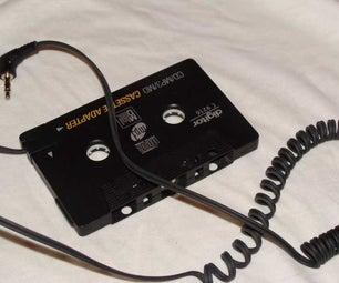 "How to cure car cassette adapter ""auto-reverse flip-flop"""