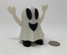 Halloween Happy Ghost Pin Walker.