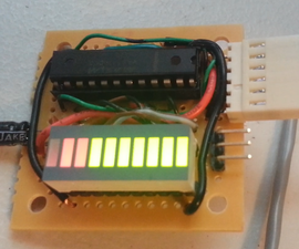 Controlling simple LED Bar Graph with Arduino