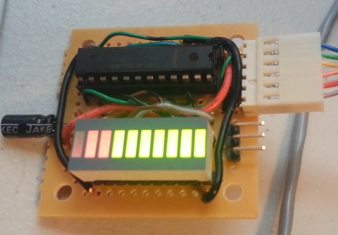 Controlling Simple Led Bar Graph With Arduino 6 Steps 10segment Circuit An