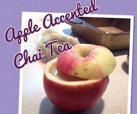 Apple Accented Chai Tea