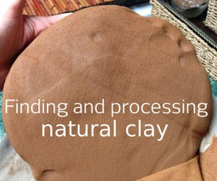 Harvesting Your Own Clay, Dirty But Delightful!