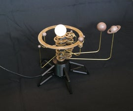 Solar System Orrery (3D Printed)