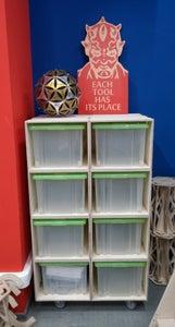 Modular Shelving Plywood Boxes