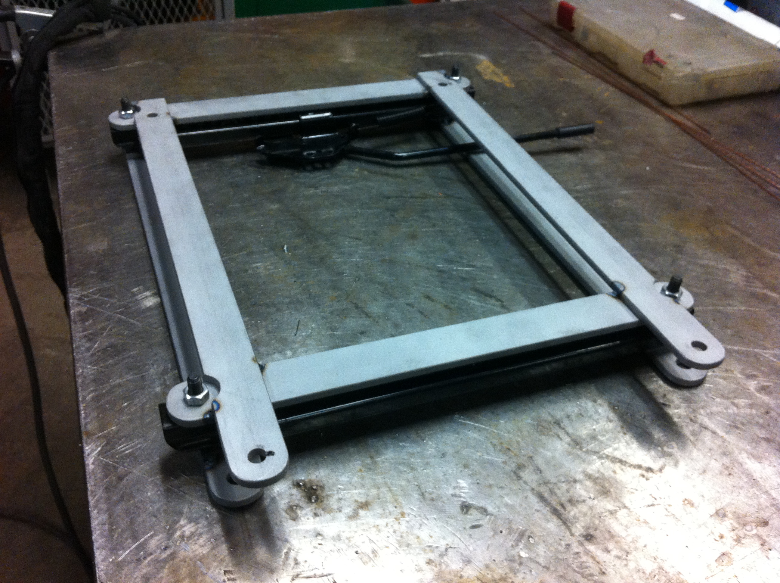 Picture of How to Make a Custom Seat Bracket for Your Car