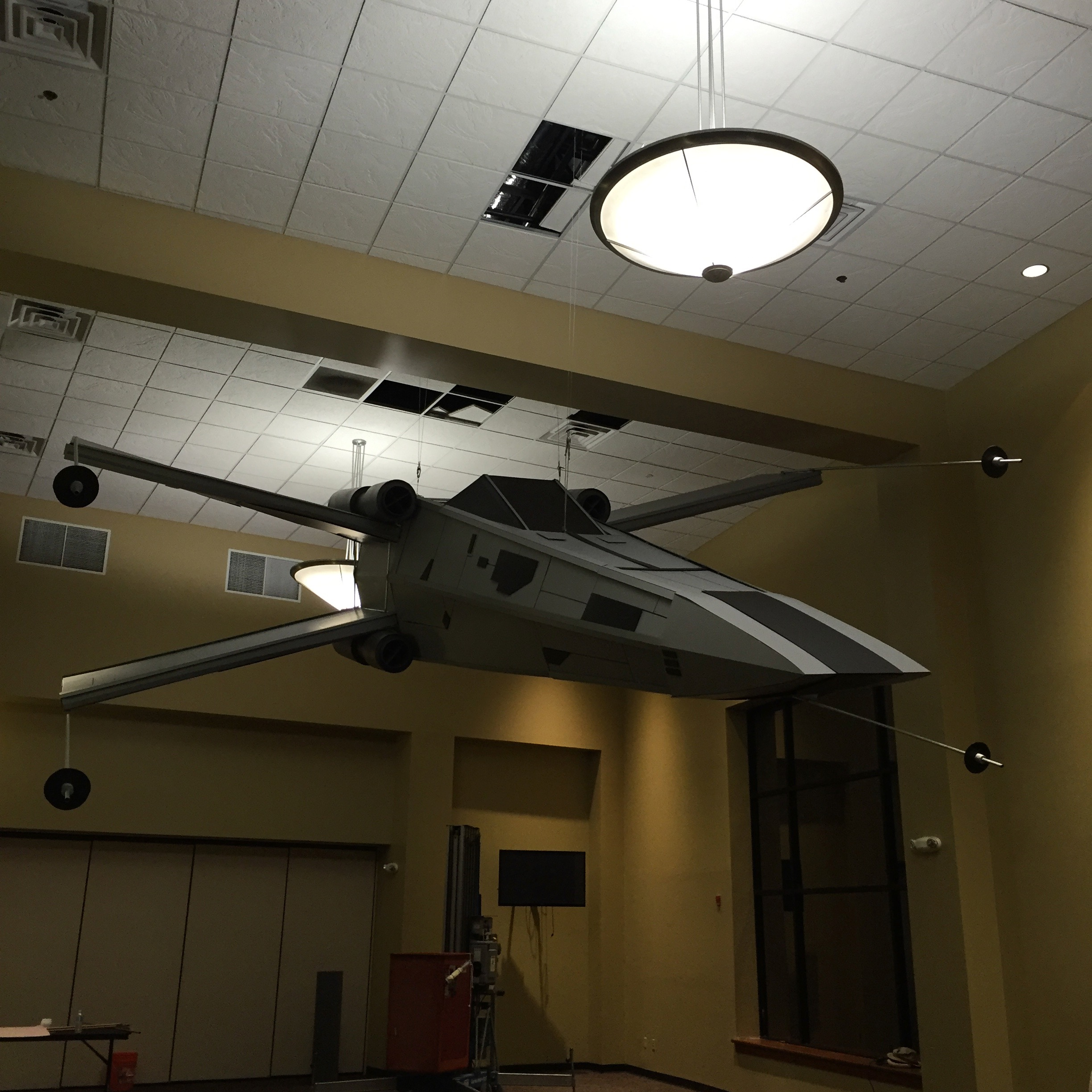 Picture of Star Wars X-wing Fighter, Life Sized Model for $400!