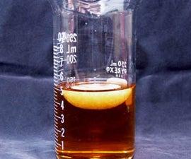 Crystallization of Homemade Sodium Acetate