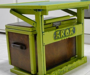 Pupitre Para El Baul - Desk to the Trunk