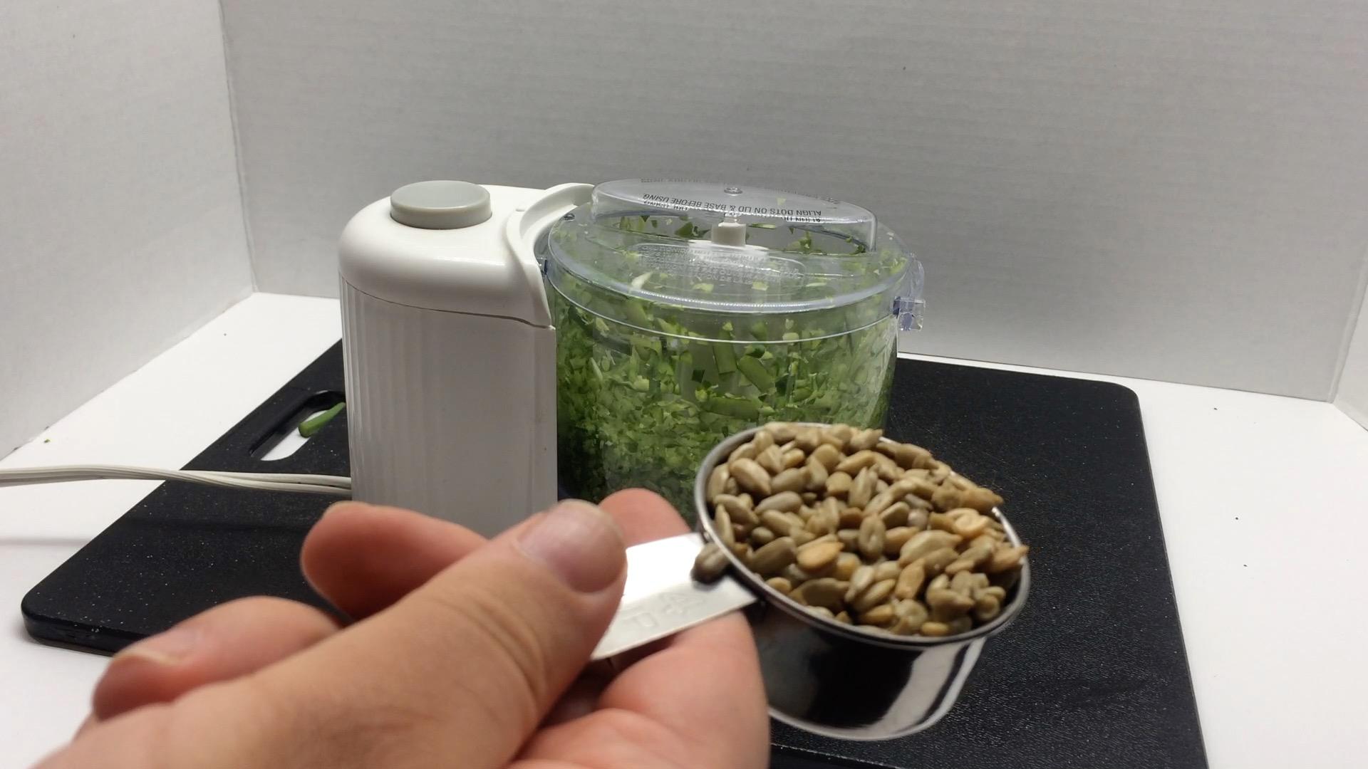 Picture of Garlic Scape Pesto