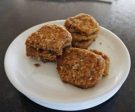 Golden Coconut Cookies