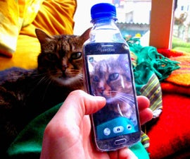 The Bottlephone:Trash Smartphone Cover