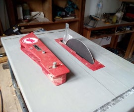 Tablesaw to Disc Sander