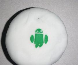 Android Gourmet Vegan Chocolate Cupcake
