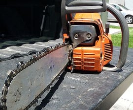 How To Tighten a Chainsaw Chain