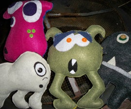 How to make a Monster plushie!