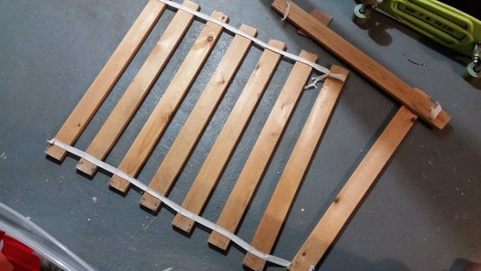 Bed Slats From a Discarded Bed...
