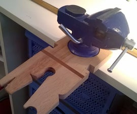 2in1 bench pin with vise