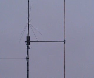 My Experiment in Building a Vertical Dipole Antenna
