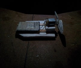 How to make simple electric toy airboat.