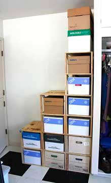 Picture of Box Shelves