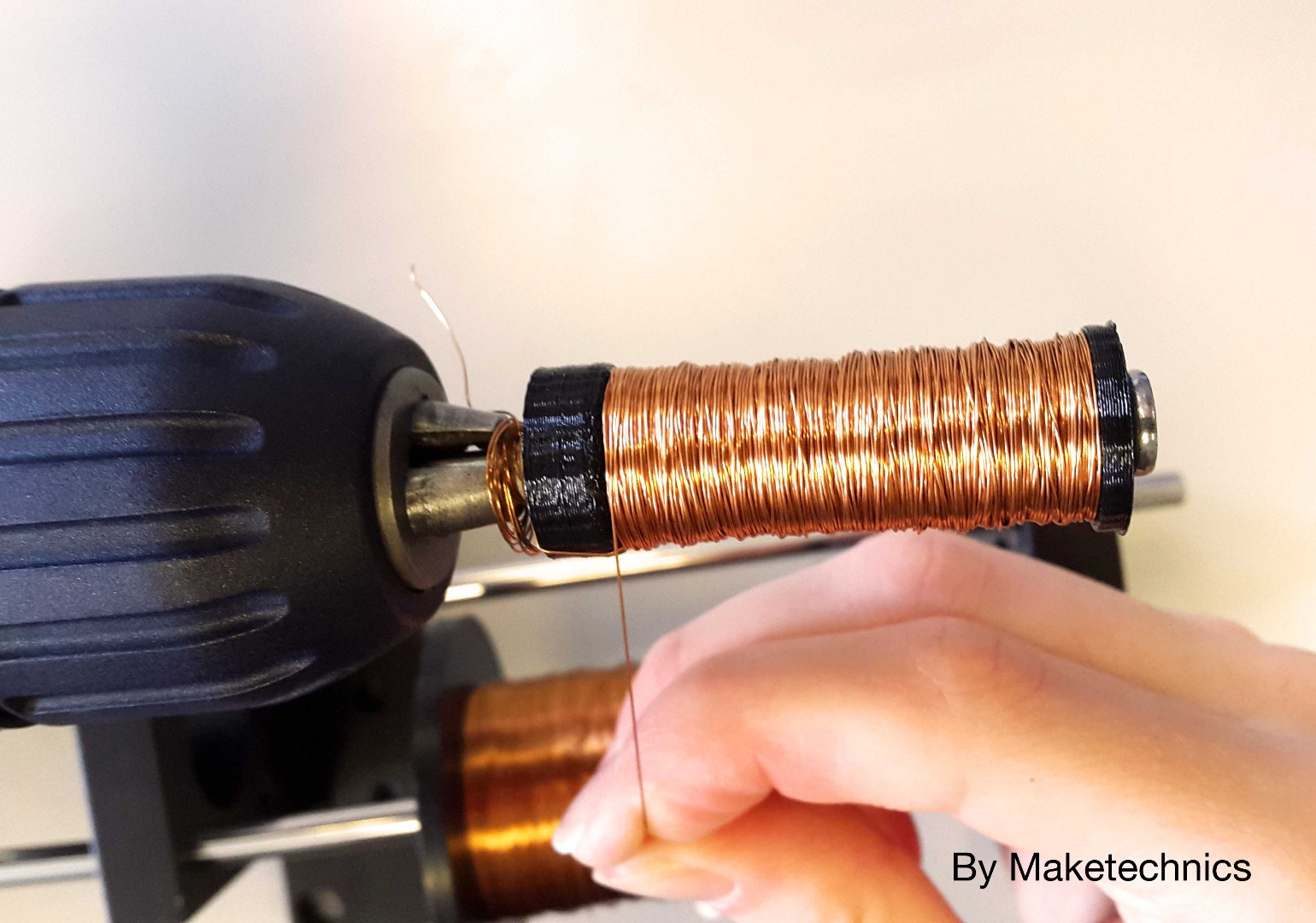 Picture of Winding the Coils